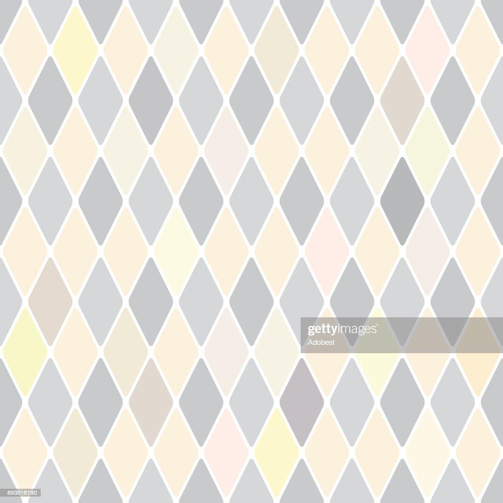 Harlequin's silver soft selenium seamless pattern background