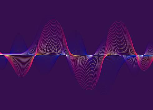 Harmonic Spectrum Sound Waves - gettyimageskorea