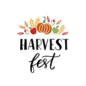 Harvest Fest lettering