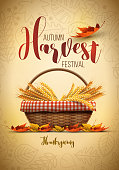 Harvest Festival Poster Design