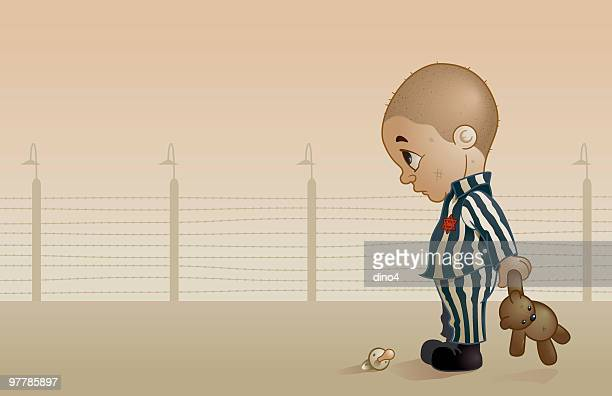 ha-shoah - holocaust stock illustrations