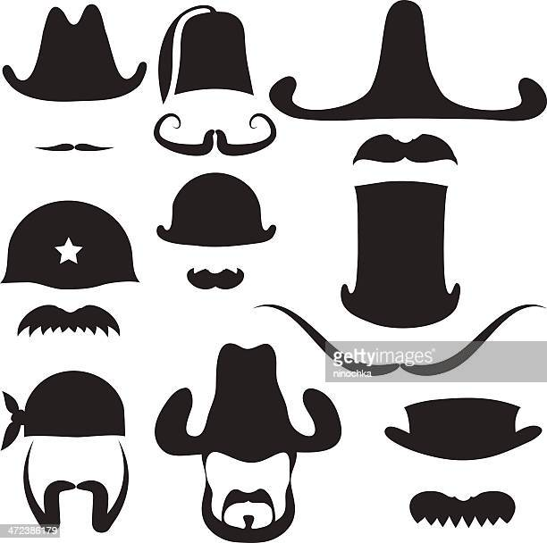 Hats and Mustaches