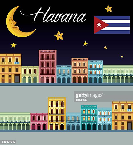 havana - cuban culture stock illustrations, clip art, cartoons, & icons