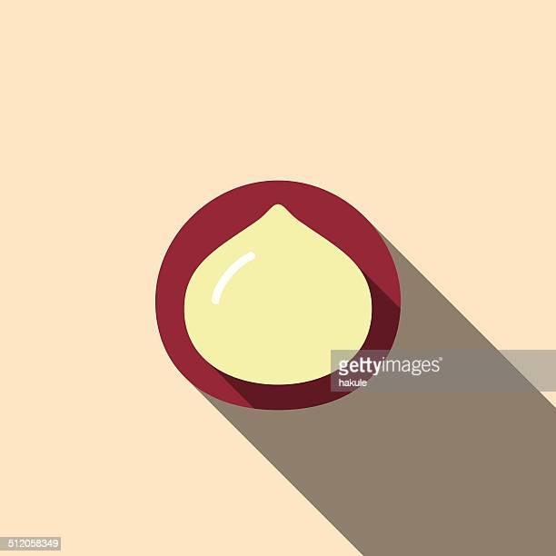 Alimentos e Bebida plana ícone série