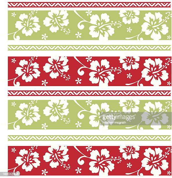 Hawaiian Christmas Pattern