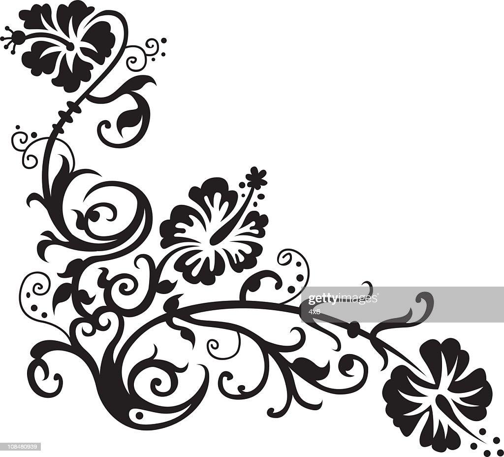 Hawaiian flower design vector art getty images hawaiian flower design vector art izmirmasajfo