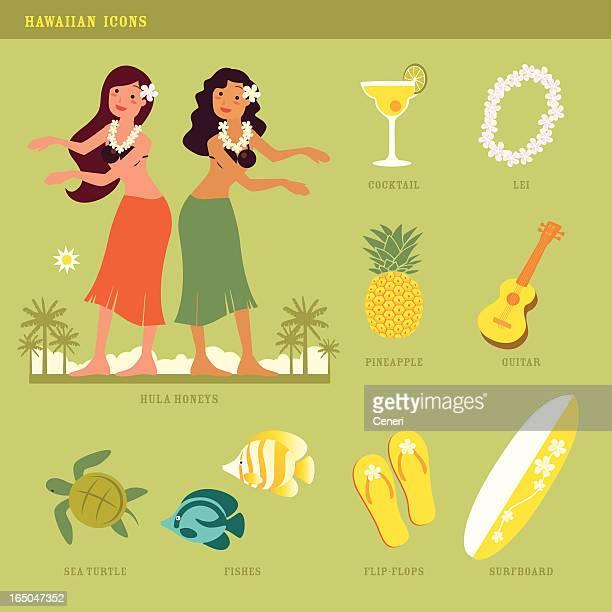hawaiian icons