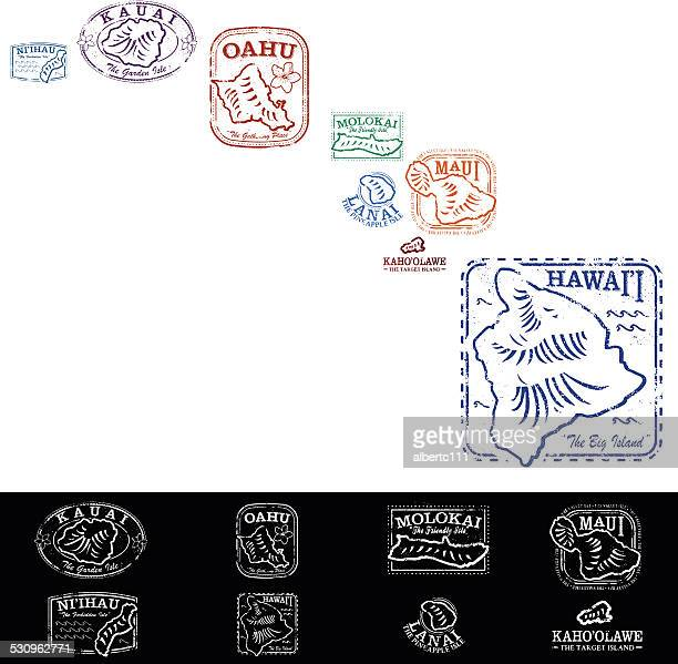 Hawaiian Passport Stamp Collection
