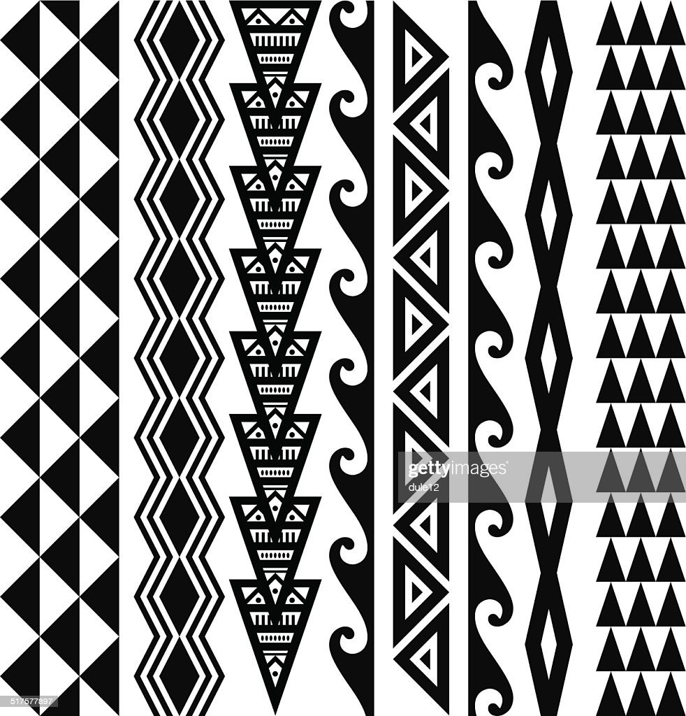 Hawaiian Tribal Patterns