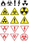 Hazard Icons and Symbols