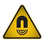 Hazard sign- vector
