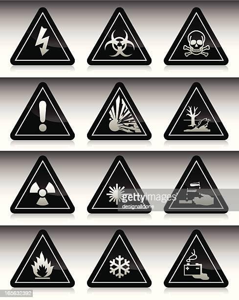 Símbolos de perigo: Série negra