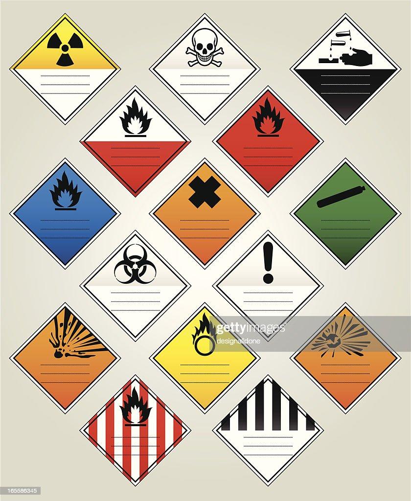 HazChem Warning Diamonds