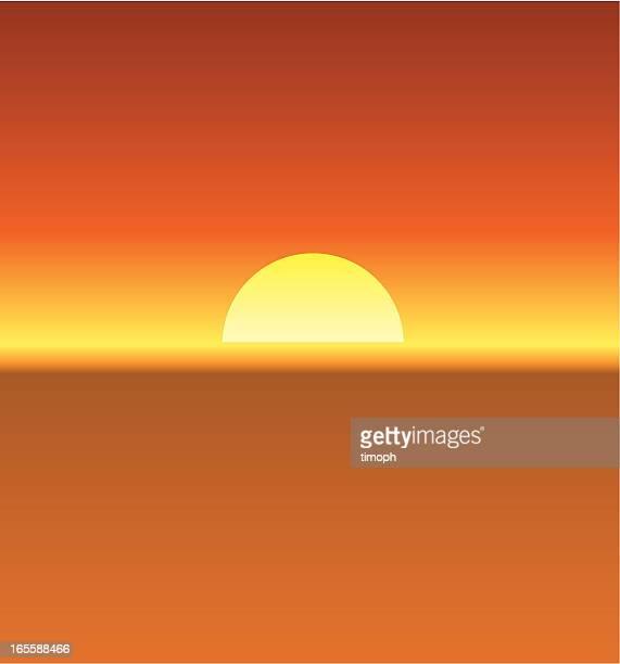 Hazy sun