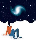 Head In Cosmos