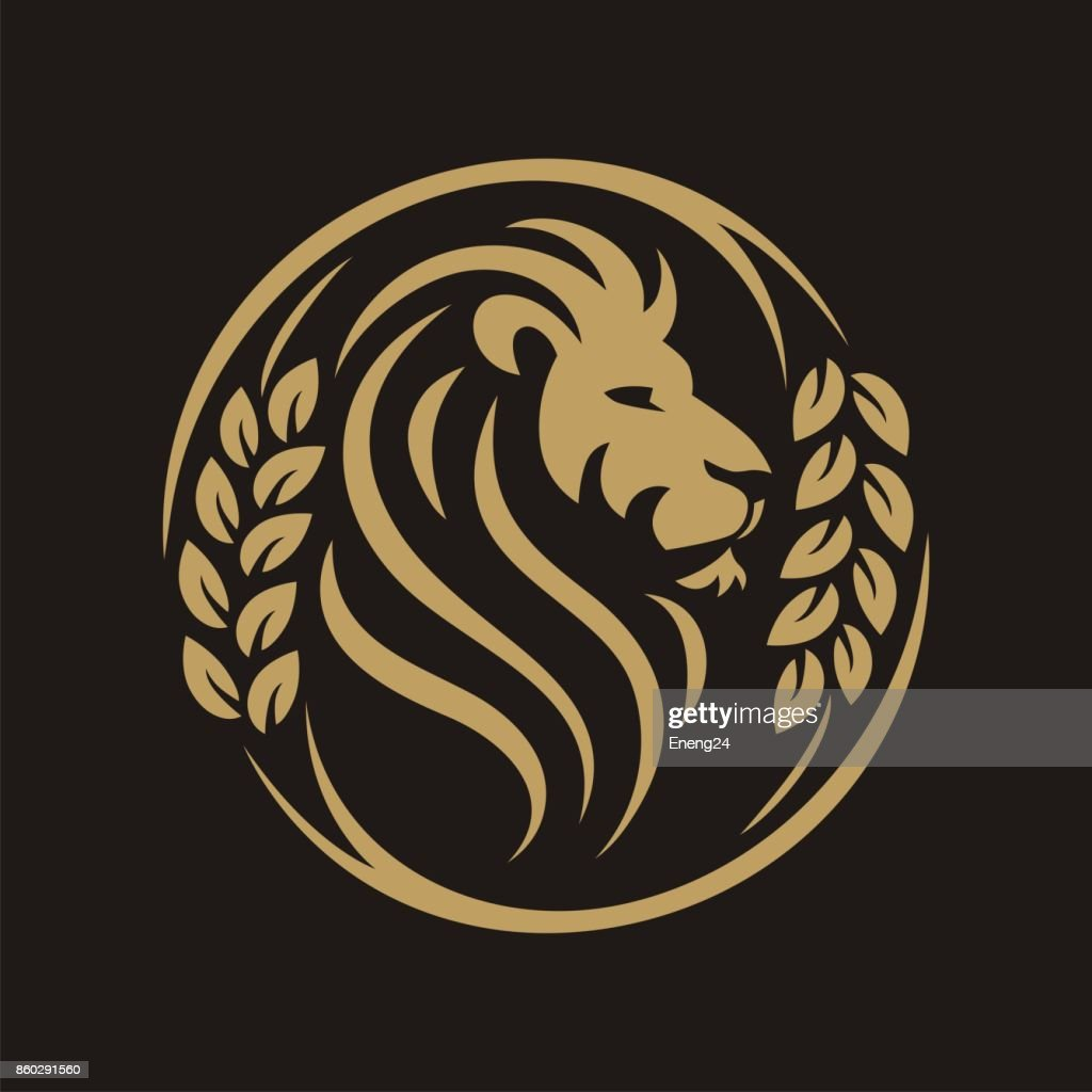 Head Lion Circle Grain