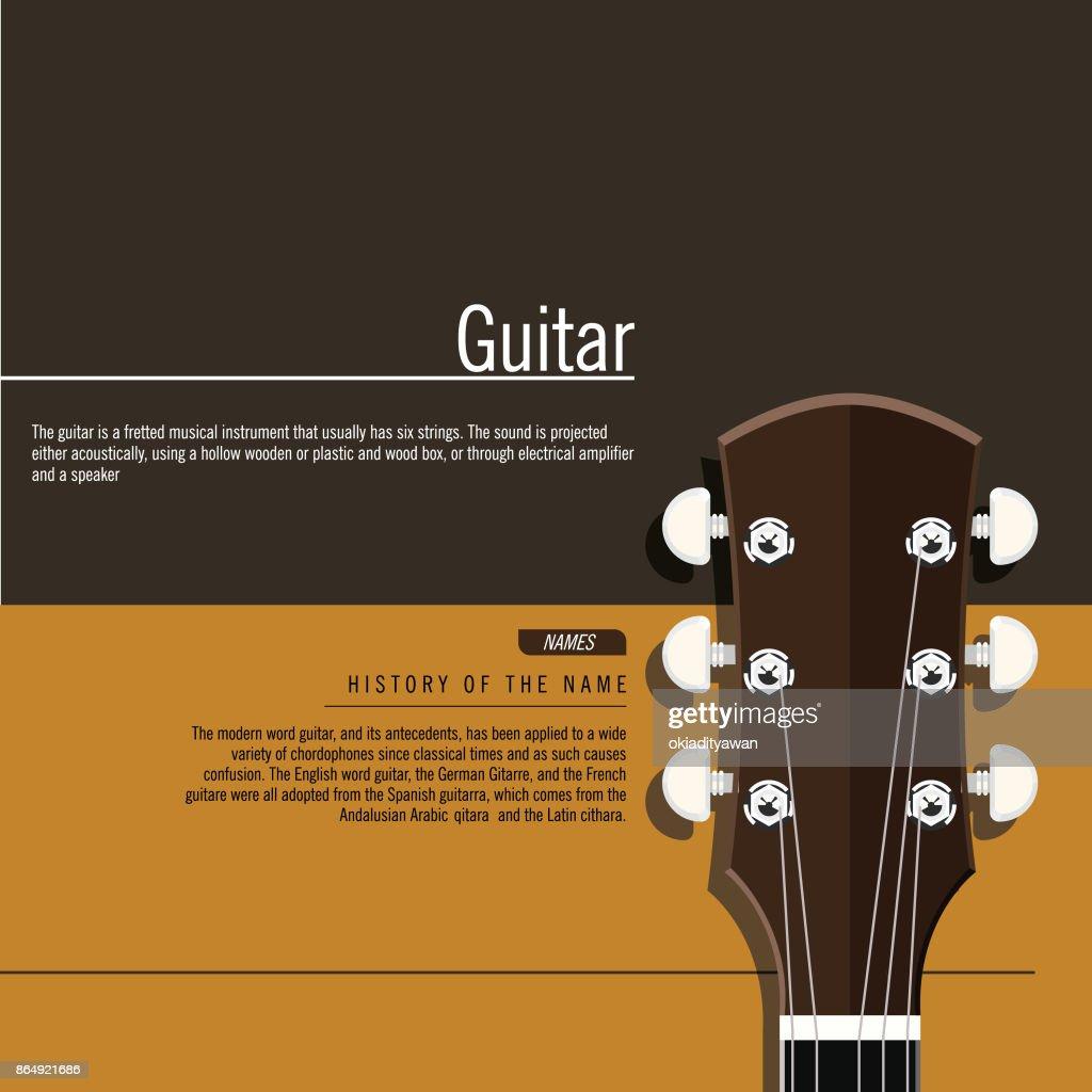 Head of Guitar