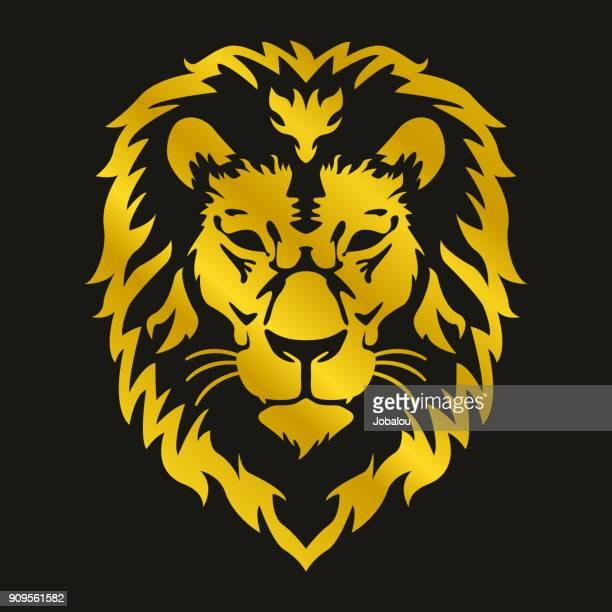 Head of Lion Clip Art