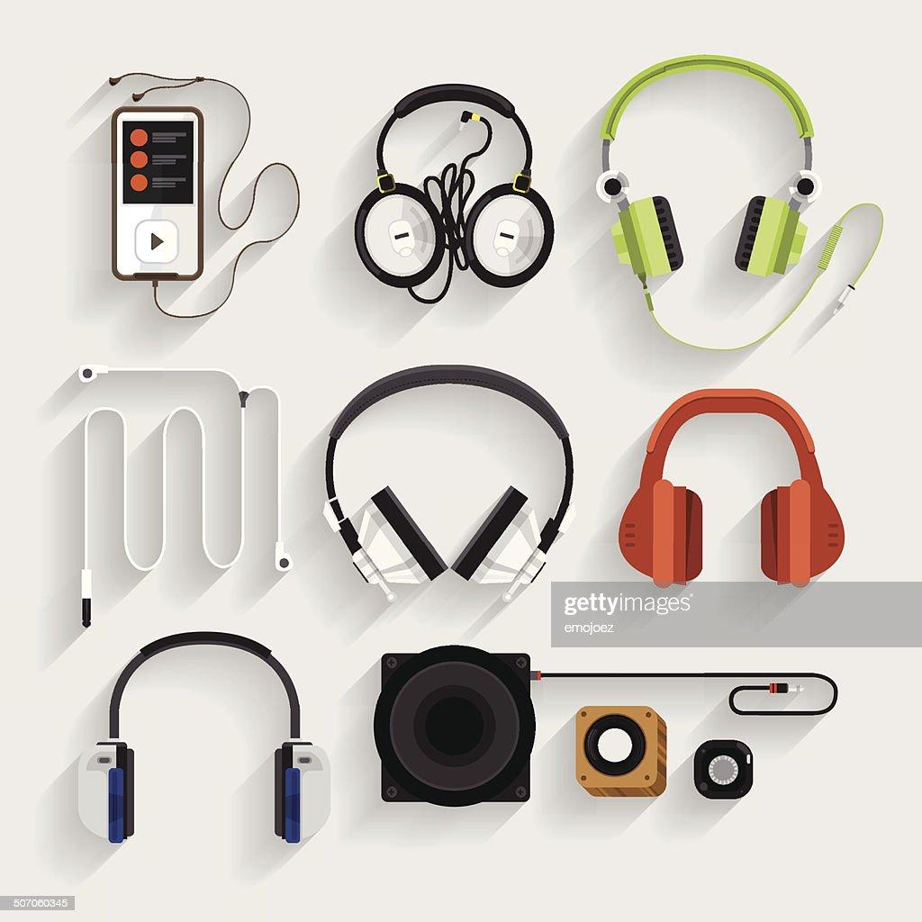 Headphone Illutrate