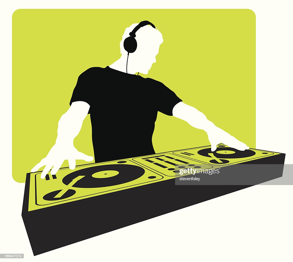 dj vector art and graphics getty images rh gettyimages com dj vector art dj victorville