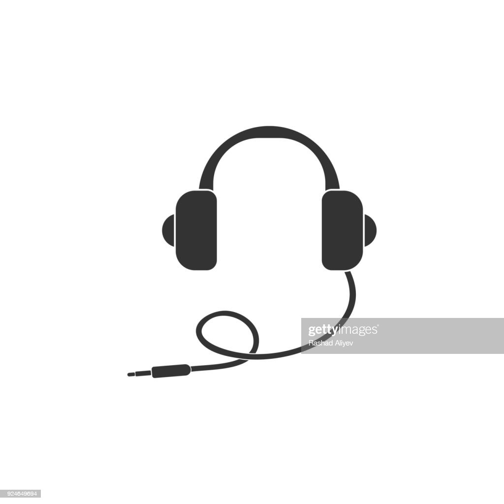headphones icon. Detailed icon of musical instrument icon. Premium quality graphic design. One of the collection icon for websites, web design, mobile app