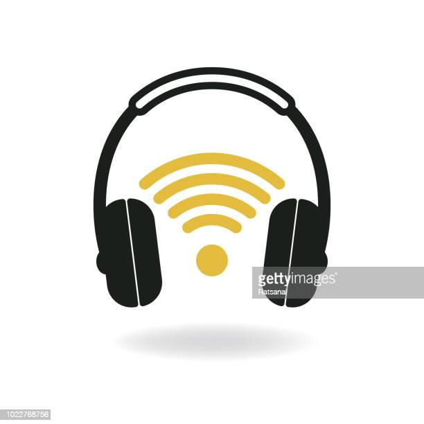 headphones - headphones stock illustrations