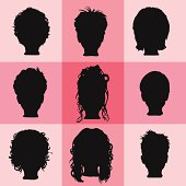 Heads of Hair