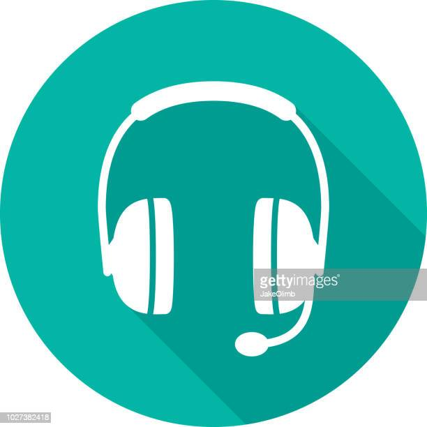 Headset Icon Silhouette