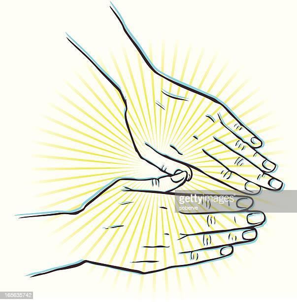 Heilbehandlung von Händen