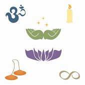 Healing meditation zen
