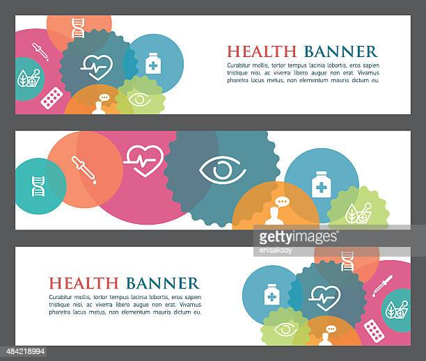 Health banners