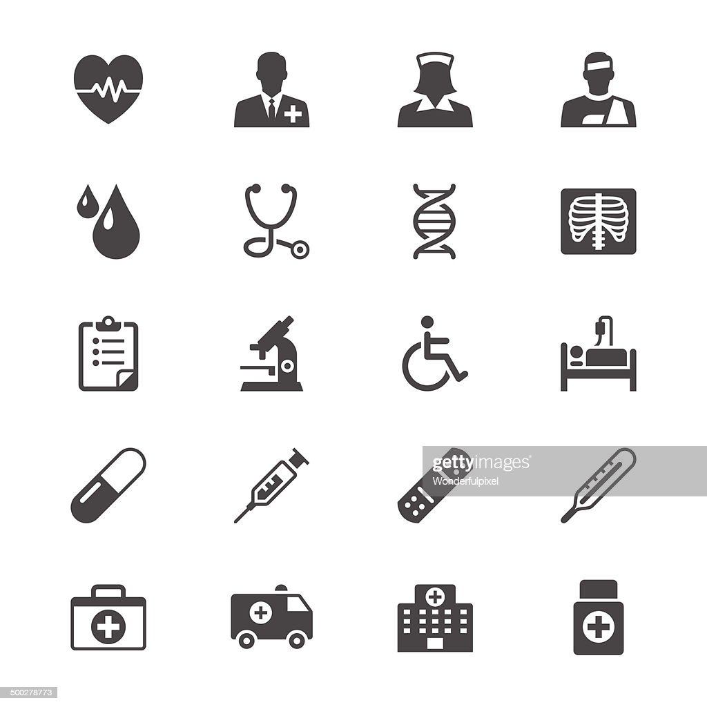 Health care flat icons