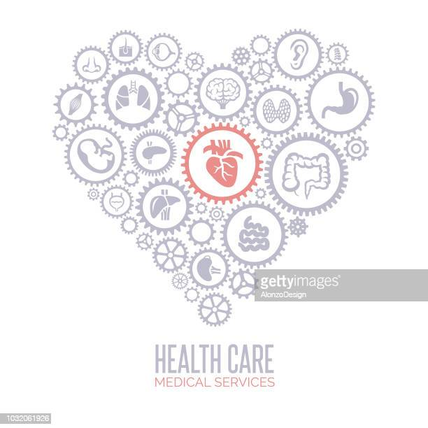 Health Care Heart Concept