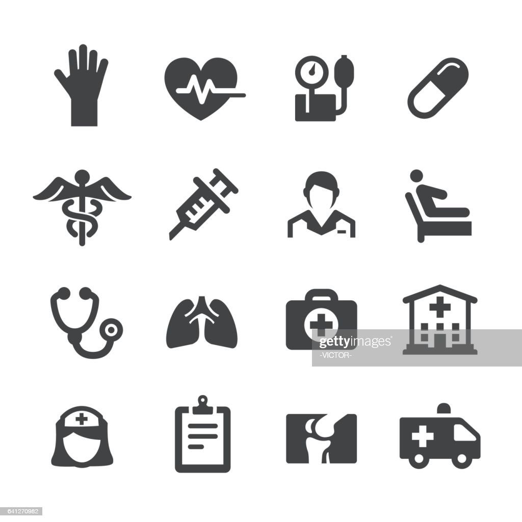 Health Care Icons - Acme Series