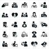 Health Insurance Icons