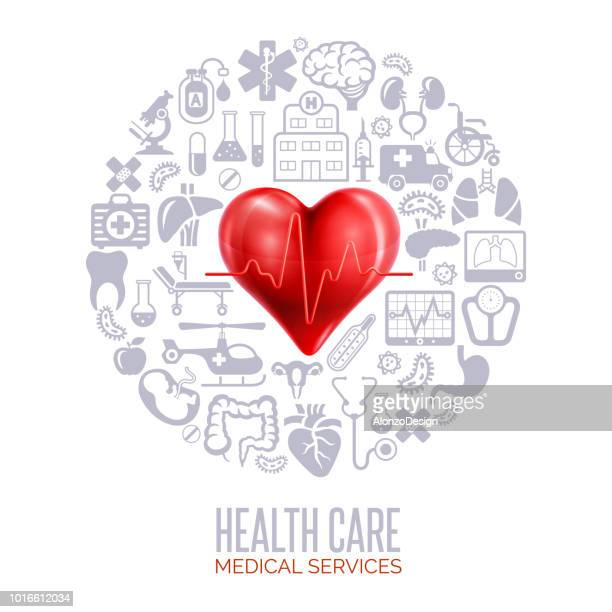Healthcare And Medicine Concept Collage