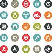 Healthcare and Medicine icons / Ringico series