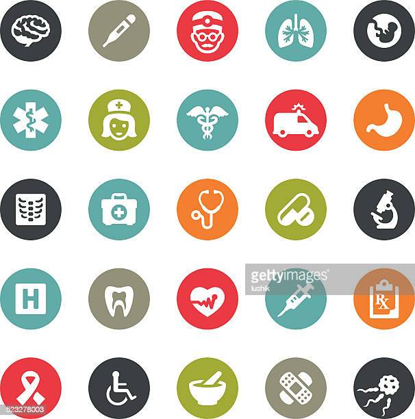 Healthcare and Medicine icons / Ringico series