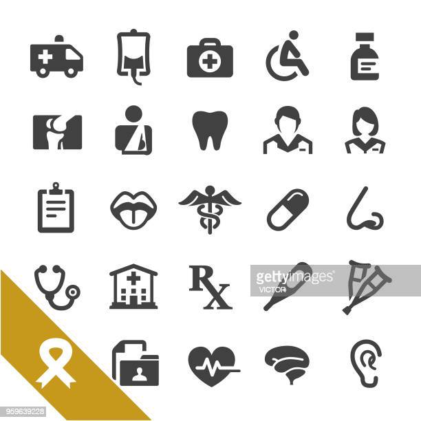 Healthcare and Medicine Icons - Select Series