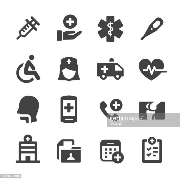 Healthcare and Medicine Icons Set - Acme Series