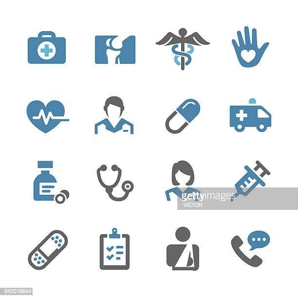 ヘルスケアと医療アイコンセットシリーズのコンセプト