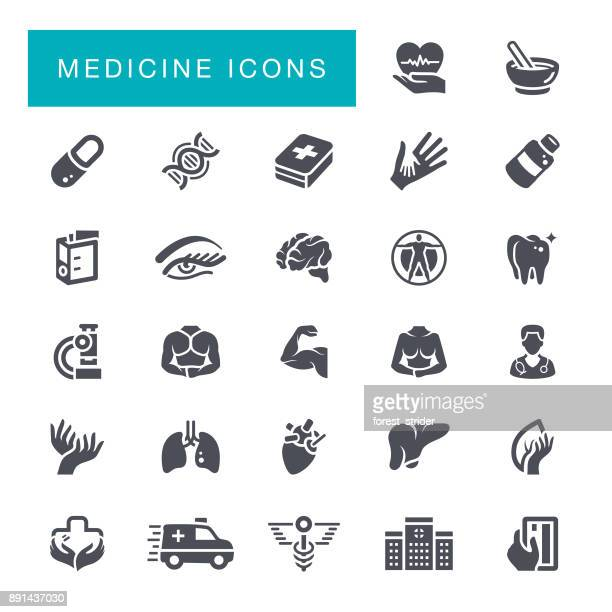 Healthcare and Medicine Icons