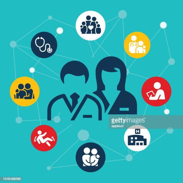 Healthcare And Medicine Illustration