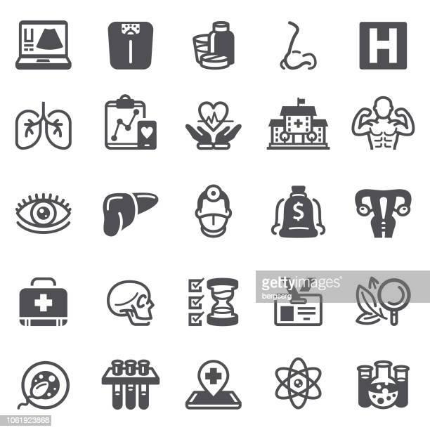 illustrations, cliparts, dessins animés et icônes de soins de santé et les icônes de la science - chirurgie esthetique