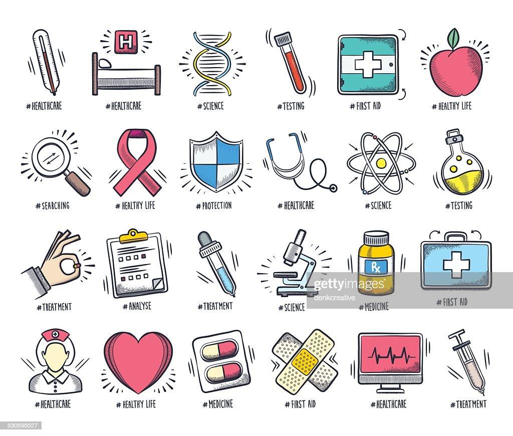 Healthcare Doodles