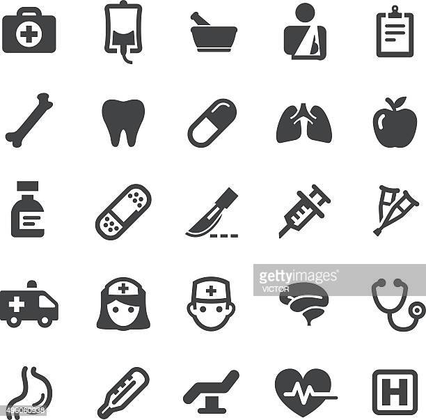 healthcare icons - smart series - mortar and pestle stock illustrations, clip art, cartoons, & icons