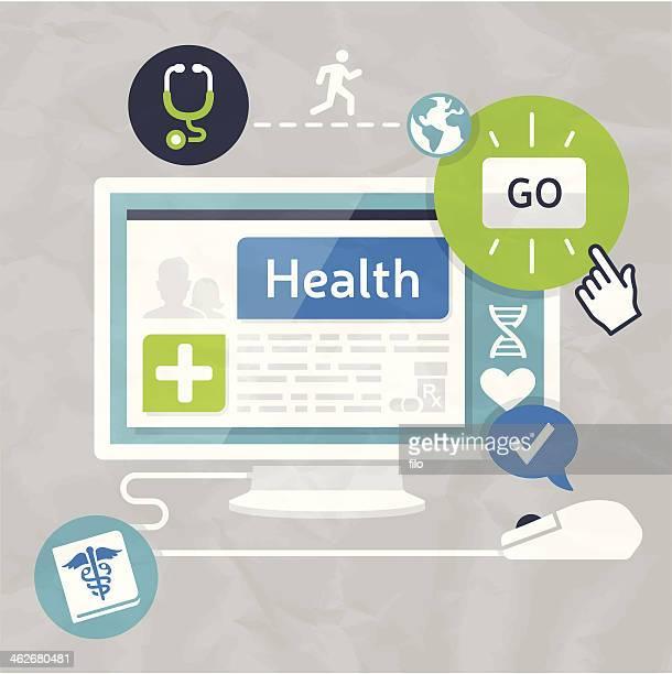 ilustrações, clipart, desenhos animados e ícones de informações sobre assistência à saúde - formulário de pedido