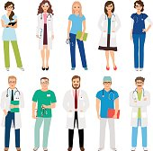 Healthcare medical team workers
