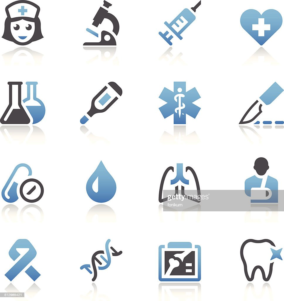 Healthcare & Medicine Icon Set