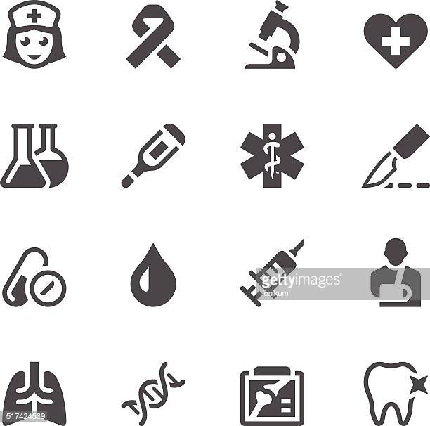 Healthcare & Medicine Icon Set